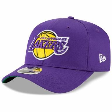Los Angeles Lakers New Era Team Stretch 9FIFTY Adjustable Snapback Hat – Purple