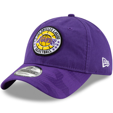 Los Angeles Lakers New Era 2018 Tip-Off Series 9TWENTY Adjustable Hat – Purple