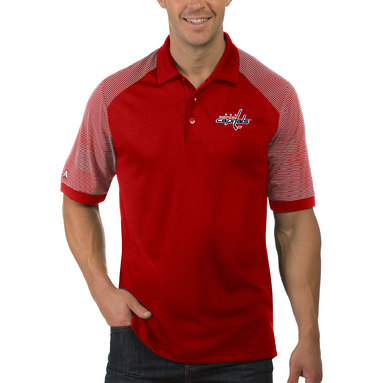 Washington Capitals Antigua Engage Big & Tall Polo - Red
