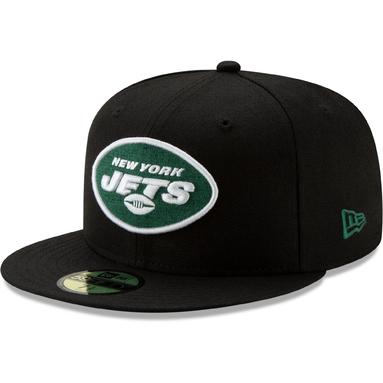 New York Jets New Era NFL Team Basic 59FIFTY Fitted Hat – Black