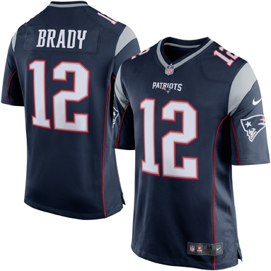 Игровая майка Tom Brady New England Patriots