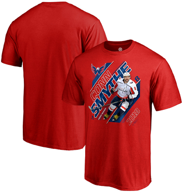 Alexander Ovechkin Washington Capitals Fanatics Branded 2018 Stanley Cup Champions Conn Smythe Trophy T-Shirt – Red