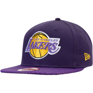 Los Angeles Lakers New Era Mesh Brim Snapback Adjustable Hat – Purple