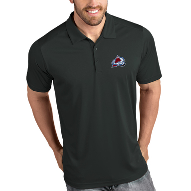Colorado Avalanche Antigua Tribute Polo - Gray