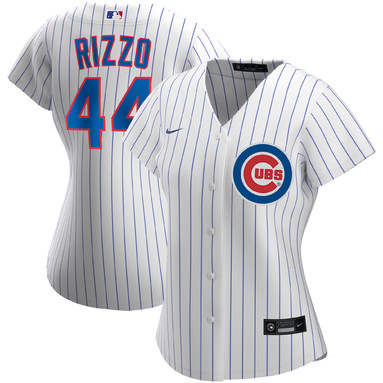 Anthony Rizzo Chicago Cubs Nike Women's Home 2020 Replica Player Jersey – White