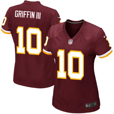 Robert Griffin III Washington Redskins Nike Girls Youth Game Jersey - Burgundy