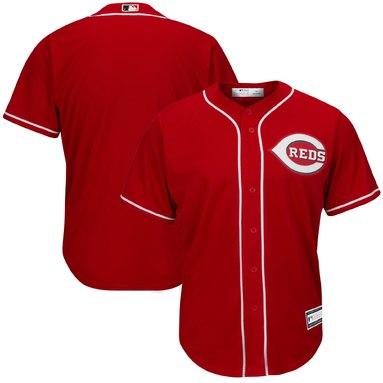 Cincinnati Reds Big & Tall Replica Team Jersey – Red