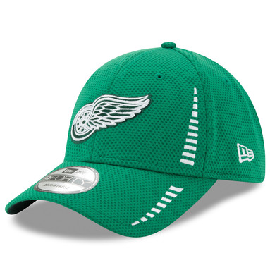 Detroit Red Wings New Era St. Patrick's Day Speed 9FORTY Adjustable Hat - Kelly Green