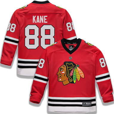 Patrick Kane Chicago Blackhawks Fanatics Branded Youth Replica Player Jersey – Red