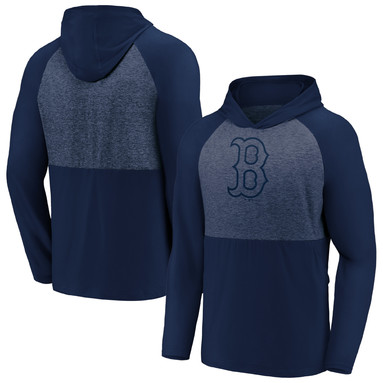 Boston Red Sox Fanatics Branded Iconic Marble Clutch Pullover Hoodie – Navy