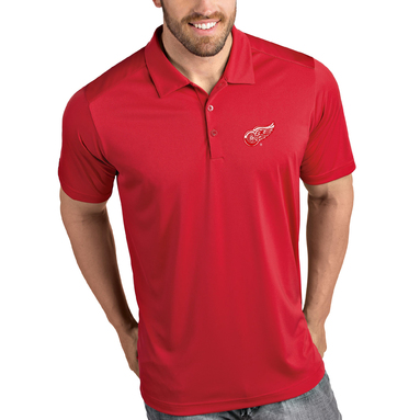 Detroit Red Wings Antigua Tribute Polo - Red