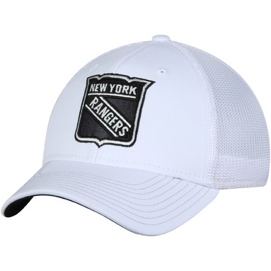New York Rangers adidas Tonal Structured Flex Hat - White