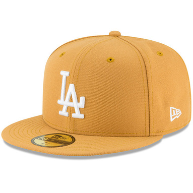 Los Angeles Dodgers New Era Fashion Color Basic 59FIFTY Fitted Hat – Gold