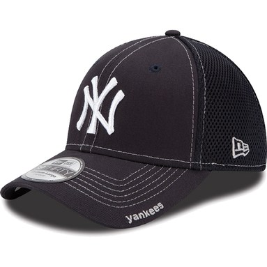 New Era New York Yankees Navy Blue Neo 39THIRTY Stretch Fit Hat