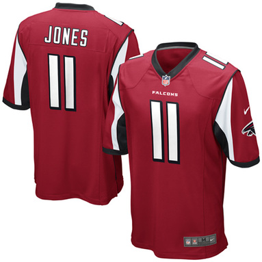 Julio Jones Atlanta Falcons Nike Youth Team Color Game Jersey - Red