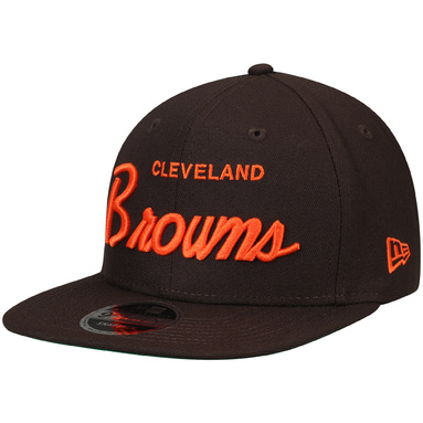 Cleveland Browns New Era Griswold 9FIFTY Adjustable Hat - Brown