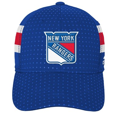 New York Rangers adidas Youth 2017 Draft Flex Hat - Blue