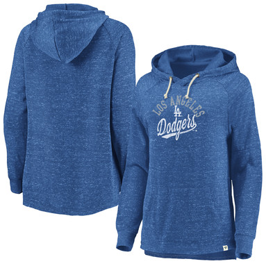 Los Angeles Dodgers Fanatics Branded Women's Faded Script Pullover Hoodie – Royal