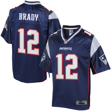 NFL Pro Line Mens New England Patriots Tom Brady Big & Tall Team Color Jersey