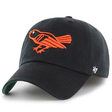 Baltimore Orioles New Era Cooperstown Collection Franchise Flex Hat - Black