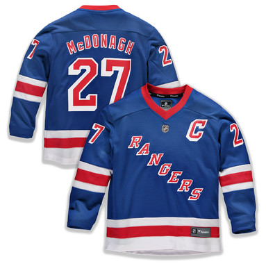 Ryan McDonagh New York Rangers Fanatics Branded Youth Replica Player Jersey – Royal