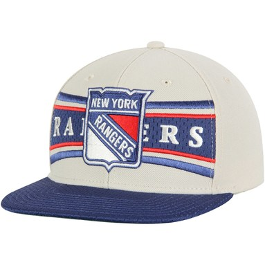 New York Rangers CCM Team Color Snapback Adjustable Hat - White