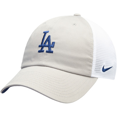 Los Angeles Dodgers Nike H86 Trucker Adjustable Hat - Gray