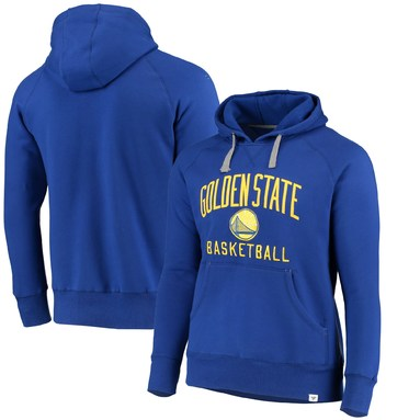 Golden State Warriors Fanatics Branded Indestructible Pullover Hoodie - Royal