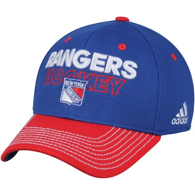 New York Rangers adidas Locker Room Flex Hat - Blue