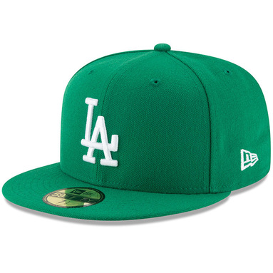 Los Angeles Dodgers New Era Fashion Color Basic 59FIFTY Fitted Hat – Green