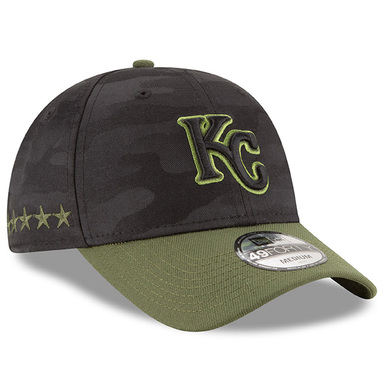 Kansas City Royals New Era 2018 Memorial Day 49FORTY Fitted Hat – Black