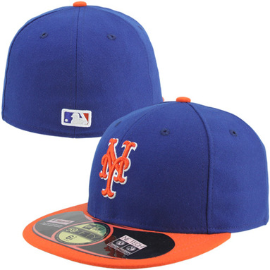 New York Mets New Era AC On-Field 59FIFTY Alternate 2 Performance Fitted Hat - Royal