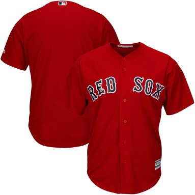 Boston Red Sox Majestic Cool Base Jersey - Red