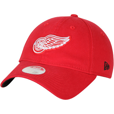 Detroit Red Wings New Era Women Preferred Pick 9TWENTY Adjustable Hat - Red