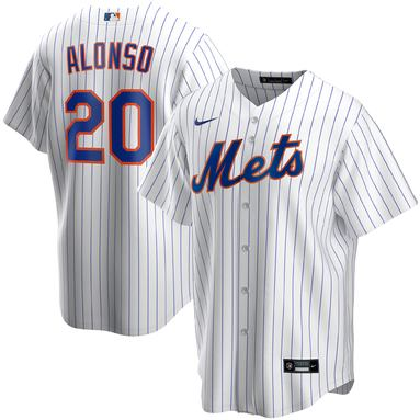Pete Alonso New York Mets Nike Home 2020 Replica Player Jersey – White