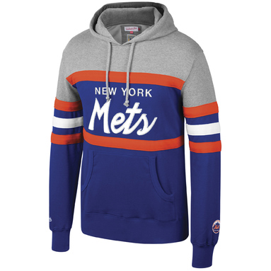 New York Mets Mitchell & Ness Head Coach Hoodie – Royal