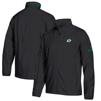 Dallas Stars adidas Rink Full-Zip Jacket – Black