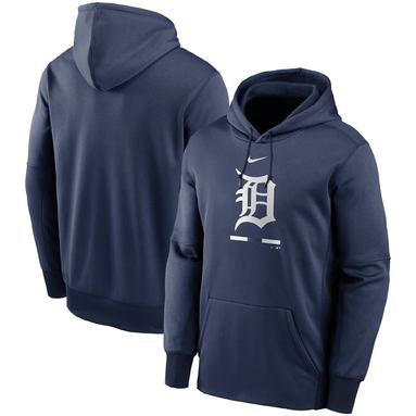 Detroit Tigers Nike Legacy Performance Pullover Hoodie – Navy