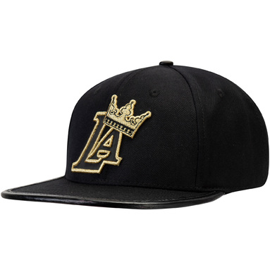 Los Angeles Lakers 3m LOGO Adjustable Hat - Black