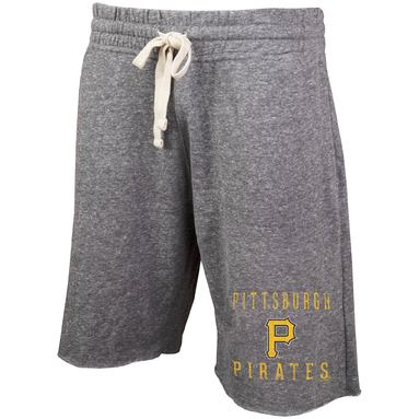 Pittsburgh Pirates Concepts Sport Mainstream Tri-Blend Shorts - Charcoal