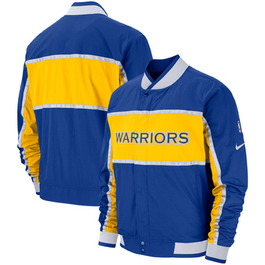 Golden State Warriors Nike Authentic Courtside Icon Jacket – Royal