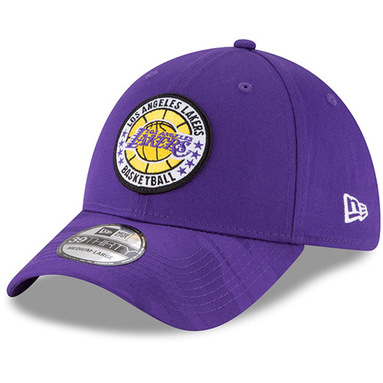 Los Angeles Lakers New Era 2018 Tip Off Series 39THIRTY Flex Hat - Purple