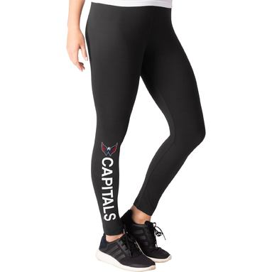 Washington Capitals G-III 4Her by Carl Banks Women's Game On Leggings - Black