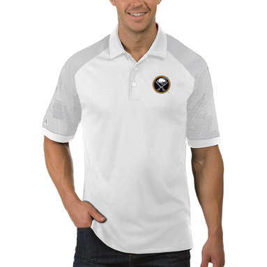 Buffalo Sabres Antigua Engage Big & Tall Polo - White
