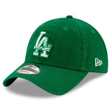 Los Angeles Dodgers New Era 2020 St. Patrick's Day 9TWENTY Adjustable Hat – Kelly Green