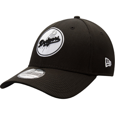 Los Angeles Dodgers New Era Team Clubhouse 39THIRTY Flex Hat - Black