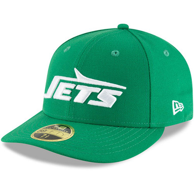New York Jets New Era Omaha Throwback Low Profile 59FIFTY Fitted Hat - Green