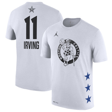 Kyrie Irving Boston Celtics Jordan Brand 2019 NBA All-Star Game Name & Number T-Shirt – White