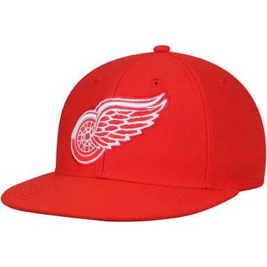 Detroit Red Wings adidas Basic Fitted Hat - Red