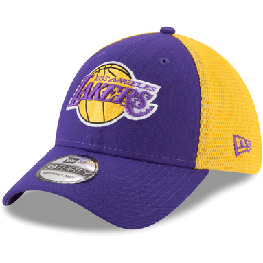 Los Angeles Lakers New Era 2T Sided 39THIRTY Flex Hat – Purple